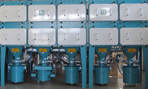 AFC Air Filtration & Containment GmbH - Malsch - Abreinigbare Schwebstoff Filteranlagen